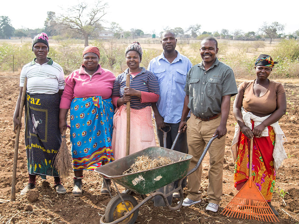Kunavelela Community Garden Project