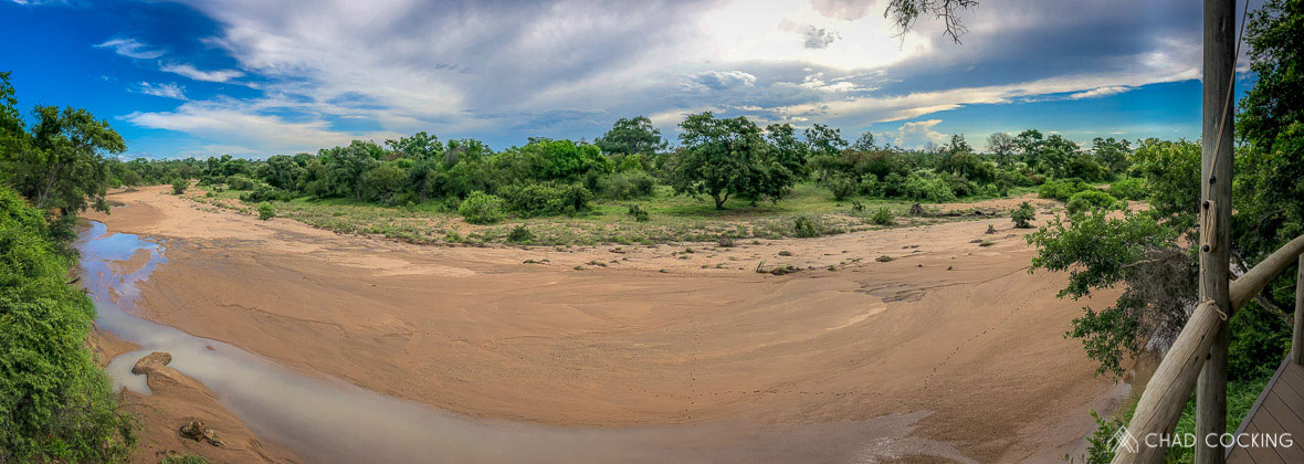 Tanda Tula - view from Safari Camp in the Greater Kruger